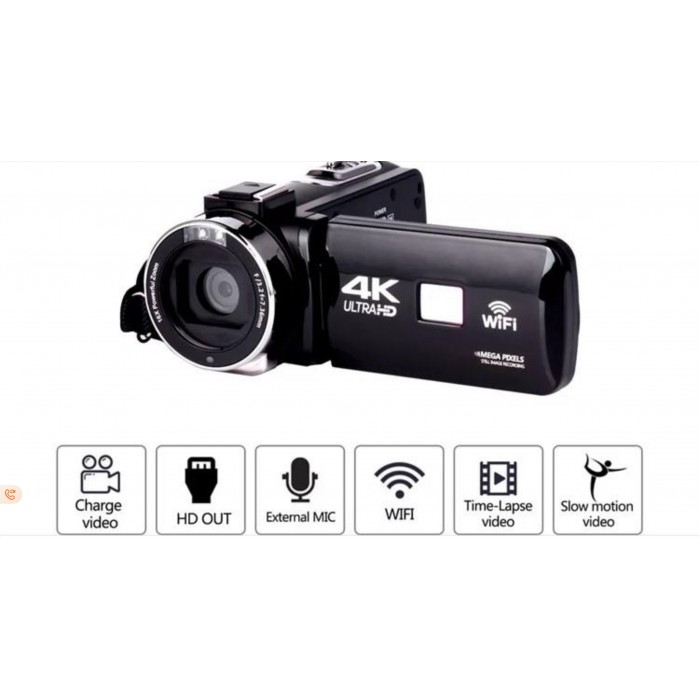 Professional video camcorder HDV 4k camera afforda...
