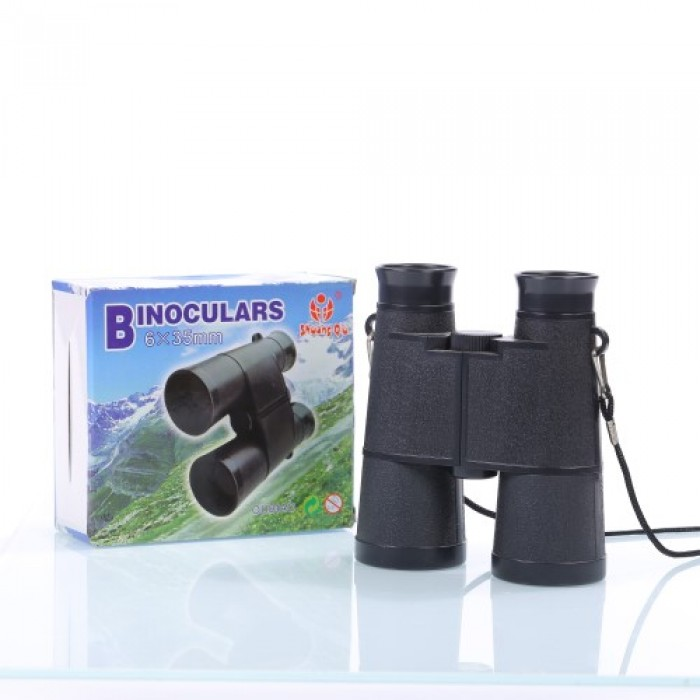 Children Gift 6X 35mm Portable Plastic Binoculars Telescope Outdoor Games Toy