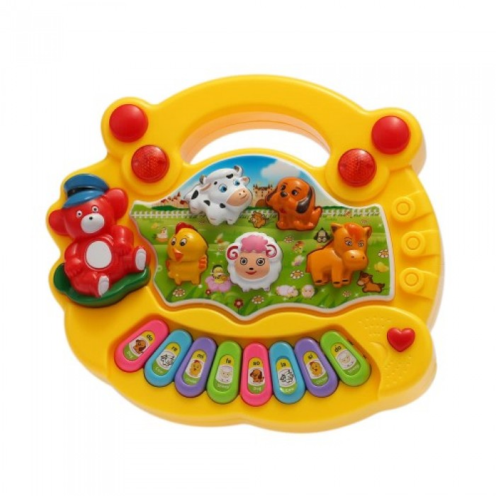 Baby Kids Toddler Musical Educational Animal Farm Piano Electronic Keyboard Music Toy