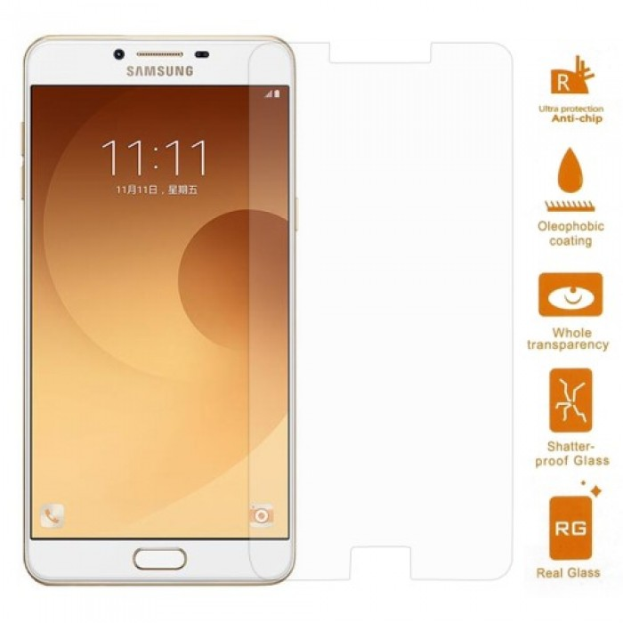 0.3mm Tempered Glass Screen Protector Film for Samsung Galaxy C9 Pro