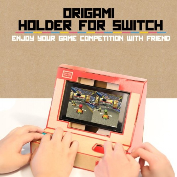 Switch Case DIY Cardboard Holder Arcade Bracket for Nintendo Switch