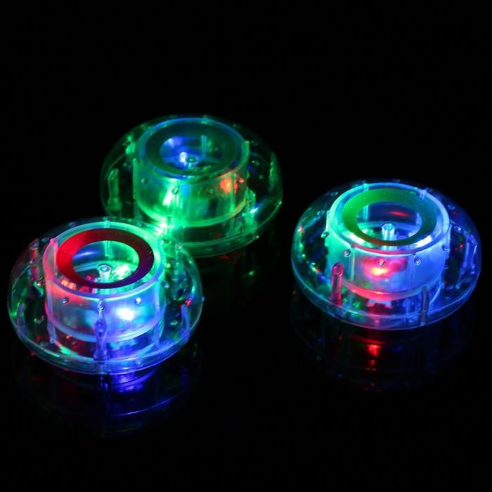 Bath Toy Lamp RGB LED Pool Light Flashing Bathing Tub Lights