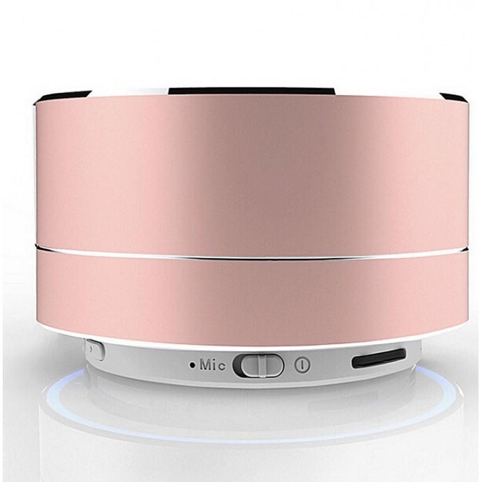 A10 Mini Portable Wireless Bluetooth Speaker for iPhone iPod iPad Samsung - Rose Gold