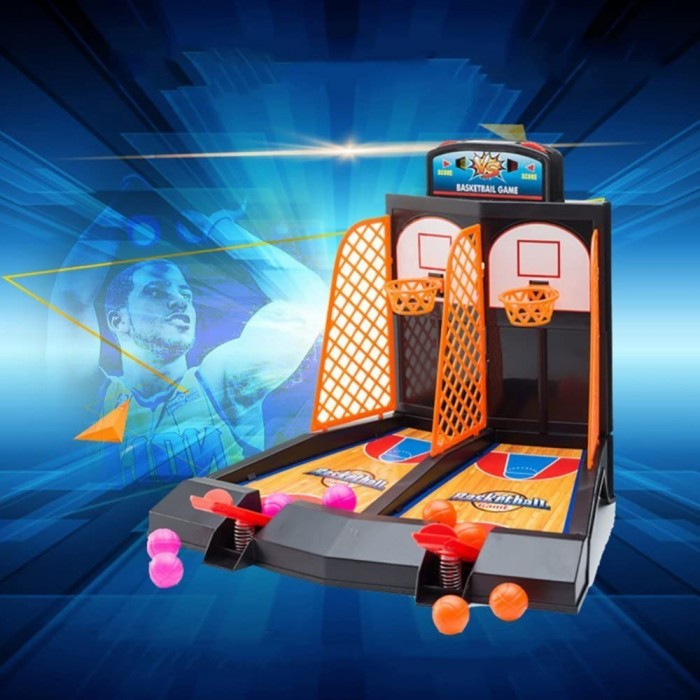 Basketball Shooting Game 2 - Player Desktop Table Basketball Games Classic Arcade Games